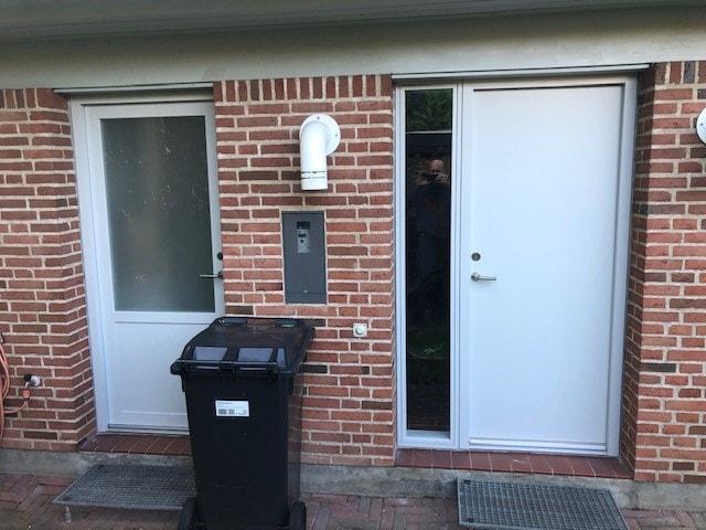 Nye døre i vejle - Efter